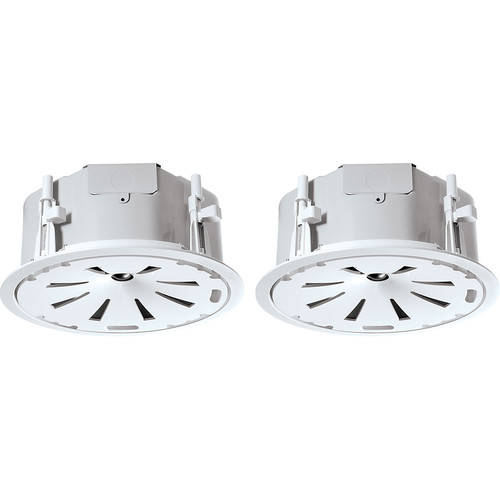 "JBL Control 47LP 6.5"" 2-Way 150W Coaxial Low-Profile Ceiling Loudspeakers (Pair, White)"