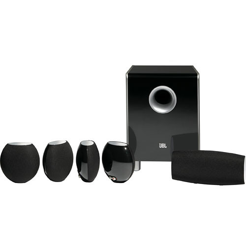 JBL CS480BG 6-Piece Home Cinema Speaker Package