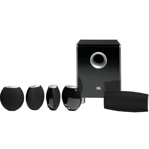 JBL CS480BG 6-Piece Home Cinema Speaker Package