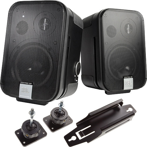 "JBL Control 2P 5.25"" 2-Way Powered Speaker Conference Room Kit"