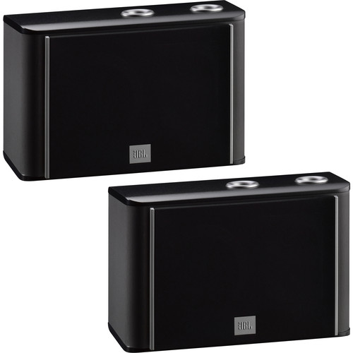 JBL ES10B 3-Way Bookshelf Speaker (Black, Pair)