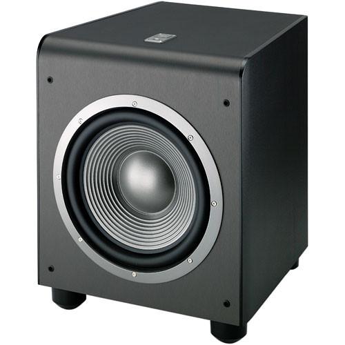 jbl es250pb powered subwoofer black es250pbk b h photo video. Black Bedroom Furniture Sets. Home Design Ideas