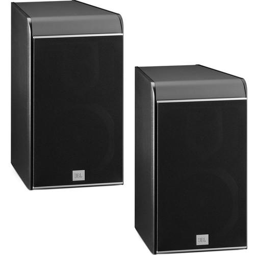 JBL ES30B 3-Way Bookshelf Speaker (Black, Pair)