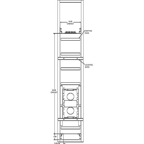 JBL HTI88BB Rough-In Mounting Kit