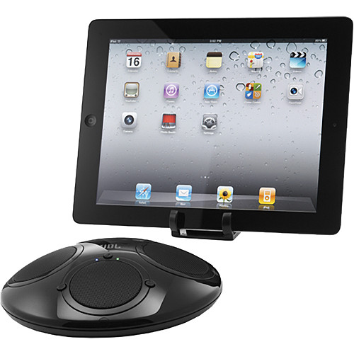 JBL On Tour iBT Bluetooth Portable Sound Station with iPad Kick Stand
