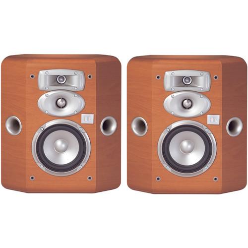 JBL L810 3-Way Bookshelf Speakers (Cherry, Pair)