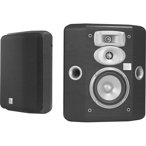JBL L810 3-Way Bookshelf Speakers (Black, Pair)