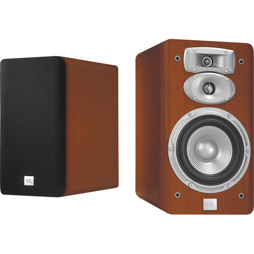 "JBL L830 3-Way 6"" Bookshelf Speakers (Pair, Cherry)"