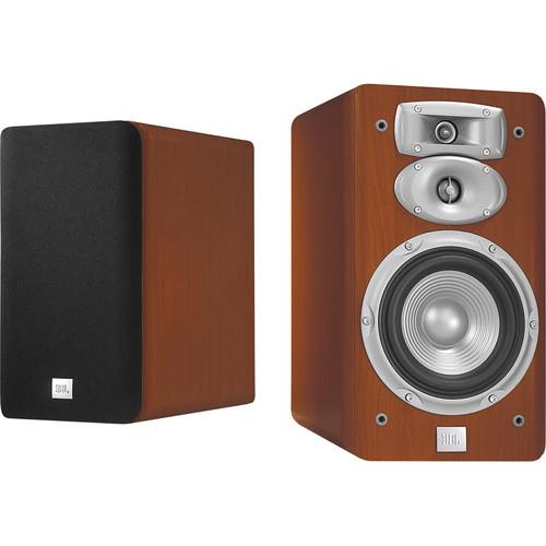 "JBL L830 3-Way 6"" Bookshelf Speakers (Pair, Cherry)"