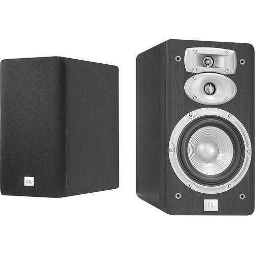 "JBL L830 3-Way 6"" Bookshelf Speakers (Pair, Black)"