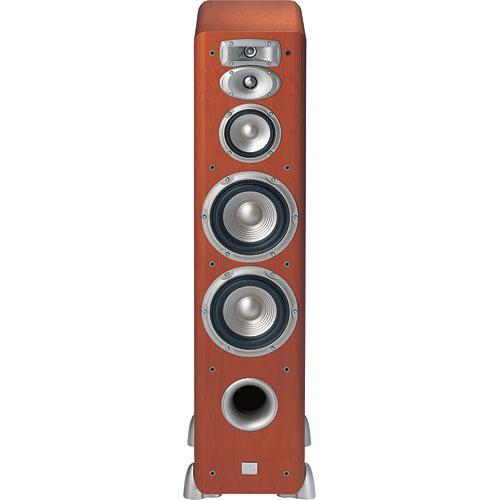 "JBL L880 200W 4-Way Dual 6"" Floor Speaker (Cherry, Single)"