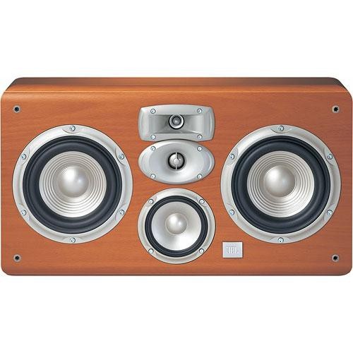 "JBL LC2 Studio L Series 4-Way Dual 6"" Wall-Mount Center Speaker - Cherry"