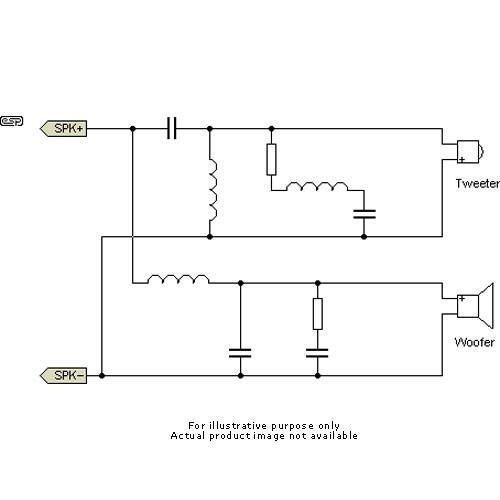 JBL MTC-210TSAT - Passive Crossover Network for SB210 w/Xformer