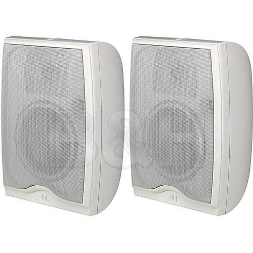 JBL N-26AWM2 Bookshelf Speaker - Pair - Off White