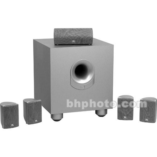 jbl scs 145 5 complete 6 piece home theater speaker scs1455s b h. Black Bedroom Furniture Sets. Home Design Ideas