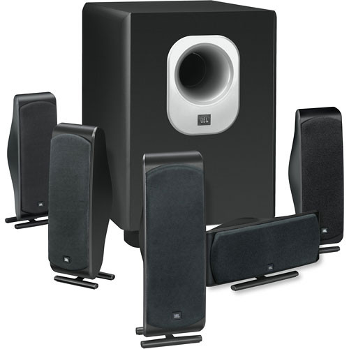 JBL SCS500.5 6-Piece Home Cinema Speaker Package