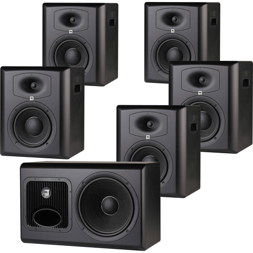 JBL LSR6328P & LSR6312SP 5.1 Studio Monitor System