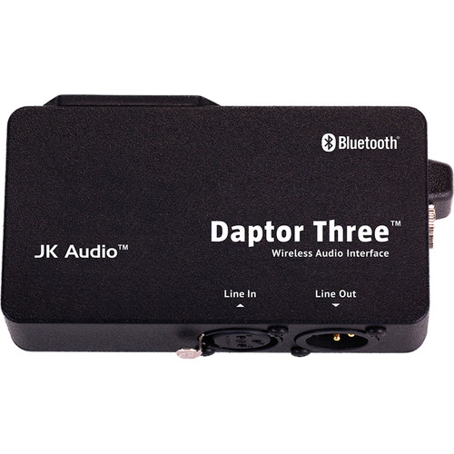 JK Audio Daptor Three Bluetooth Cell Phone Audio Interface