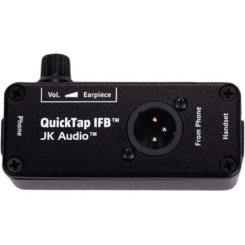 JK Audio QuickTap IFB Telephone Handset Tap