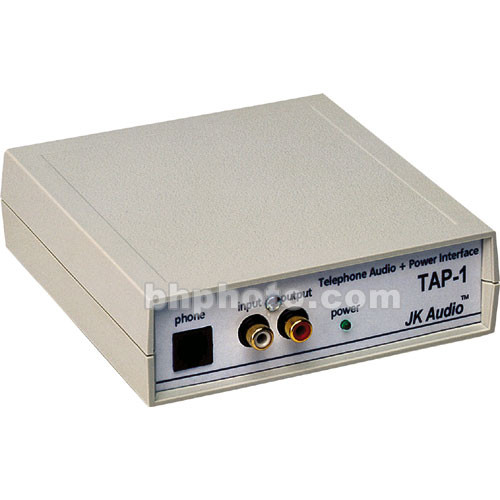 JK Audio TAP-1 Telephone Audio and Power Interface