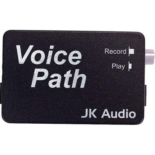 JK Audio VOICE - Telephone Handset Audio Tap for Phone Conversation Recording to Computer Sound Cards