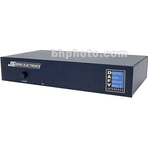 JLCooper DAFV2 - Digital Audio Follows Video Interface