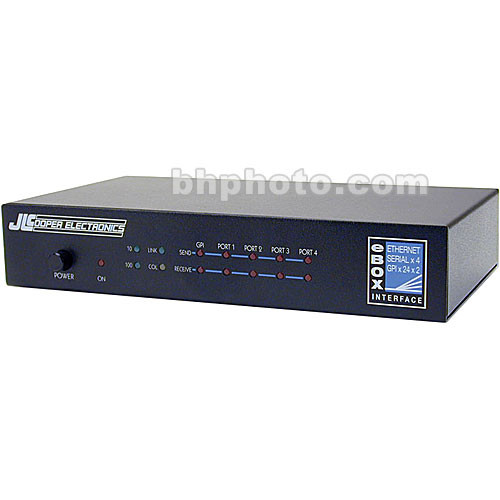 JLCooper eBOX - Quad Serial to Ethernet Interface