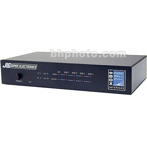 JLCooper eBOX - Quad Serial to Ethernet Interface