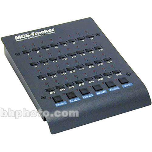 JLCooper MCS-PROTRACKER Low-Profile MIDITrack Arming Controller