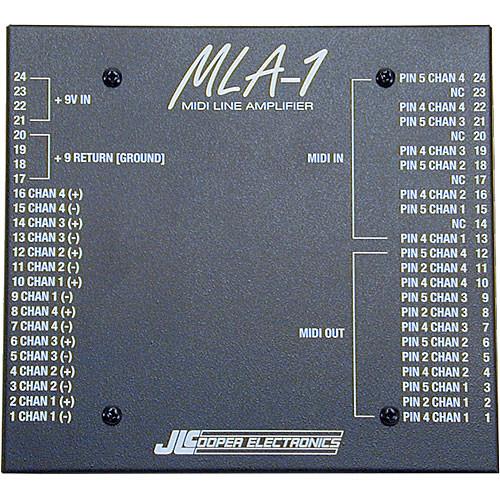JLCooper MLA-1 MIDI Line Amplifier