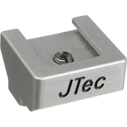 JTec NEX-5 Cold Shoe Viewfinder Mount (Silver)