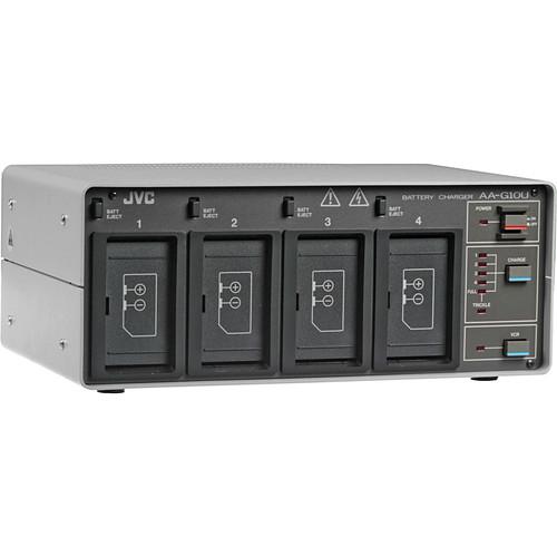 JVC AA-G10U AC Adapter and Quad Charger