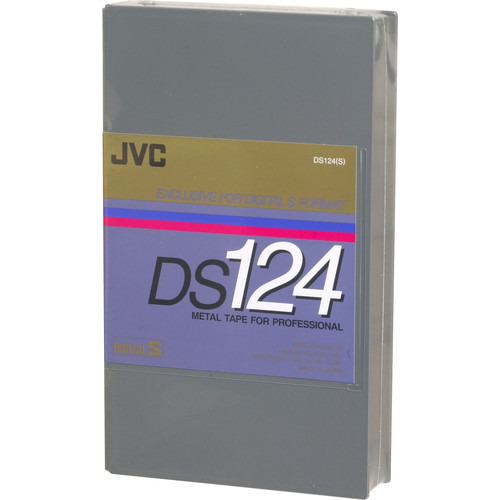 JVC DS124 Digital-S (D-9) Videocassette