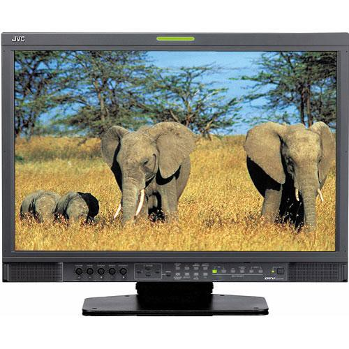 "JVC DT-V24L3DU 24"" Multi Format LCD Monitor"