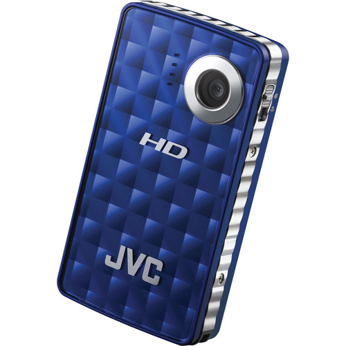 JVC PICSIO GC-FM1 HD Memory Camera (Blue Steel)