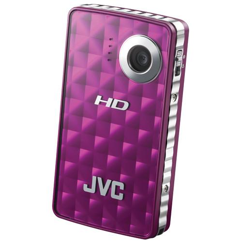 JVC PICSIO GC-FM1 HD Memory Camera (Purple Passion)