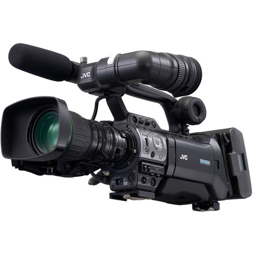 JVC GY-HM750 ProHD Compact Shoulder Camcorder w/Canon 14x Lens