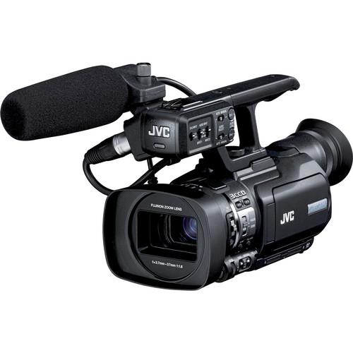 JVC GY-HM150U Compact Handheld 3-CCD Camcorder