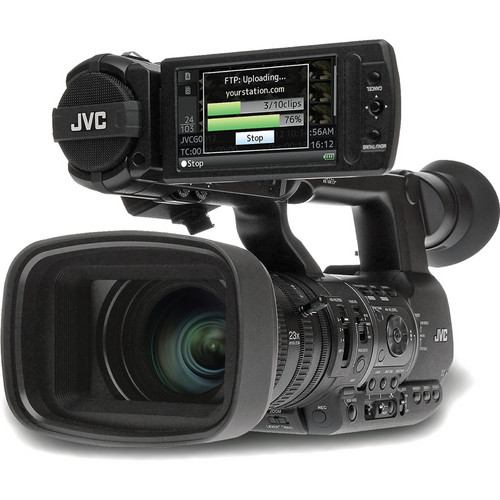 JVC GY-HM650 ProHD Mobile News Camera