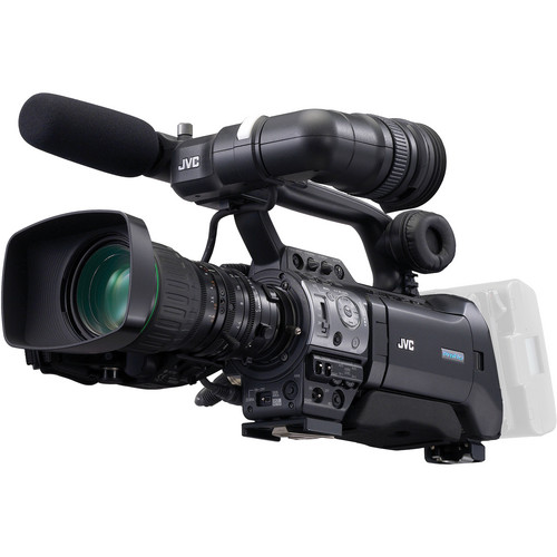 JVC GY-HM710U ProHD Compact Shoulder Camcorder with Canon 14x Lens