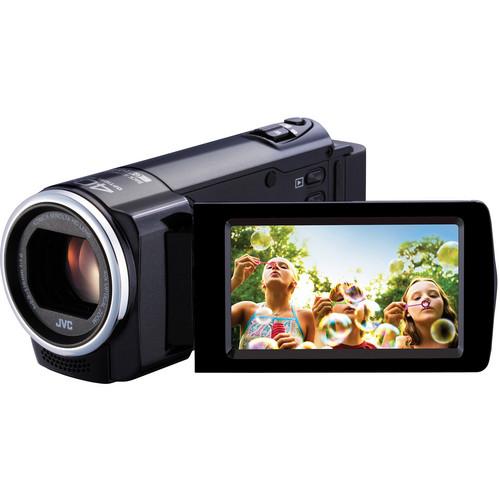 JVC GZ-E10 Full HD Everio Camcorder (PAL) (Black)