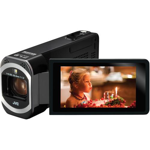 JVC GZ-V500BW Full HD Camcorder (PAL)