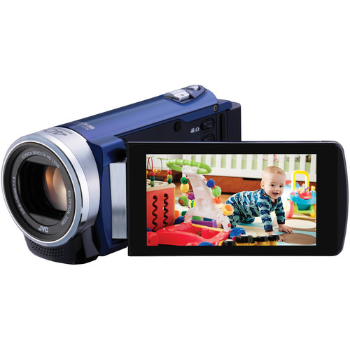 JVC GZ-E200 Full HD Everio Camcorder (Blue)