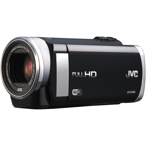 JVC GZ-EX210 Full HD Everio Camcorder with WiFi (Black)