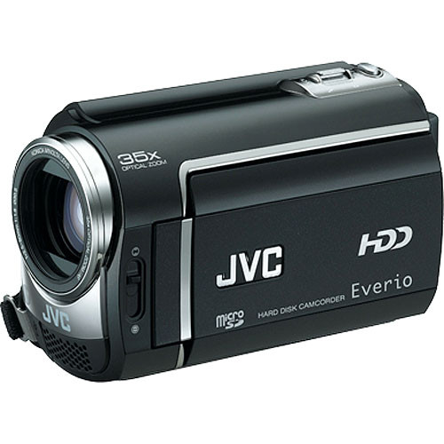 JVC GZ-MG365 Hybrid 60GB HDD/MicroSD Camcorder (Black)