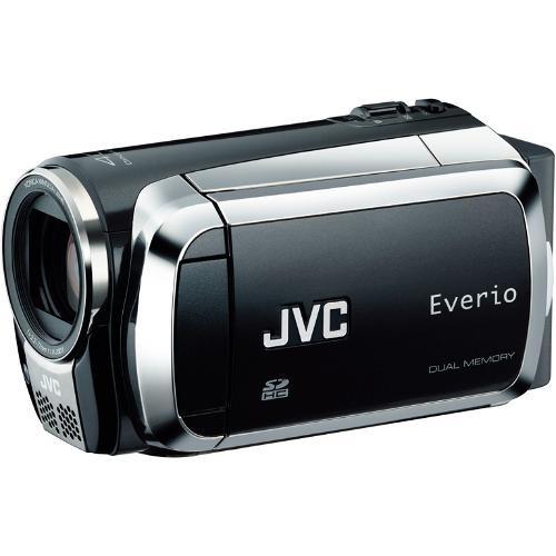 JVC Everio S GZ-MS130 Flash Memory Camcorder (Onyx Black)