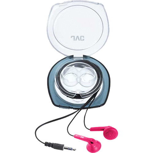JVC HA-F10C Stereo Earbuds (Pink)