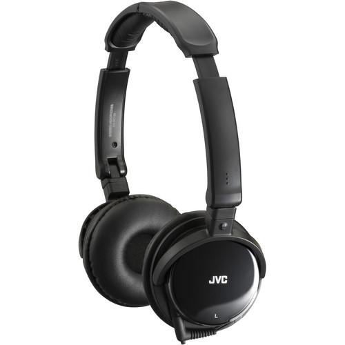 JVC HA-NC120 On-Ear Noise Canceling Headphones