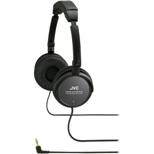 JVC HA-NC80 On-Ear Noise Cancelling Stereo Headphones
