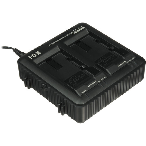 JVC LC-2J Dual Charger for SSL-JVC50 7.4V JVC Batteries